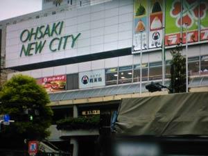 大崎駅がある大崎ニューシティ