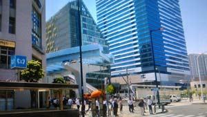 豊洲駅付近